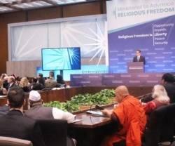 Sam Brownsback, católico converso, es el gran impulsor de este encuentro sobre libertad religiosa en EEUU