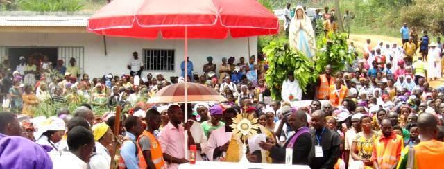 Las apariciones de Nsimalen no están oficialmente aprobadas pero sí tienen un santuario con apoyo del obispo