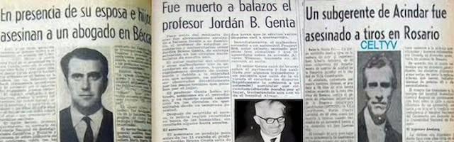 Los asesinatos de Carlos Alberto Sacheri, Jordán Bruno Genta y Raúl Amelong segaron la vida, por odio a la fe, de tres personalidades católicas de primer nivel.