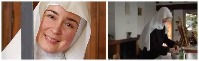 Nicoletta, ahora sor María Fides, dejó el atronador mundo de los negocios por la paz de la oración
