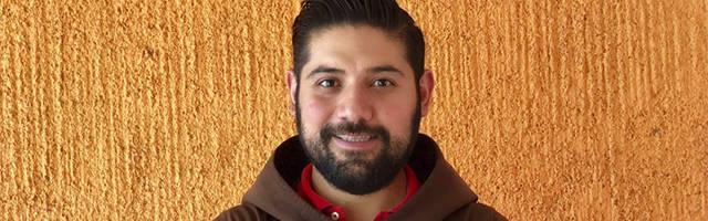 El religioso capuchino Fray Javier Garza