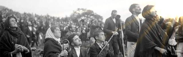Testigos del milagro de Fátima, 13 de octubre de 1917