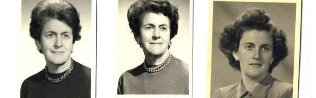 3 imágenes de Piedad de la Cierva a lo largo de los años - fue una de las grandes pioneras femeninas en la ciencia española