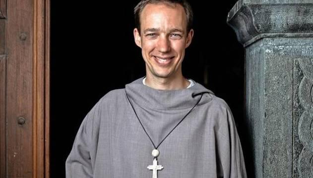 Johannes de Habsburgo decidió dejar su prometedora carrera en el mundo de la empresa por la vida religiosa /Fraternidad Eucharistein