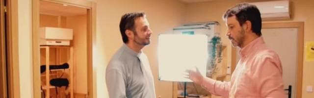 El padre Jesús Silva visita Gospa Arts para hablar con jesús García-Colomer de un tema más que complejo - sexo joven en la era del móvil en Internet y el miedo a casarse