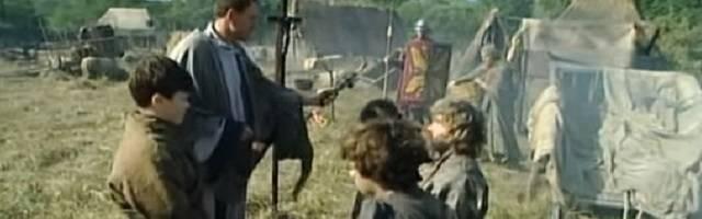 La conversión de los visigodos al catolicismo es el punto de partida a la unidad social y política de la que Esparza denomina «primera España». Imagen: serie «Barbarians. The Goths» (2004).