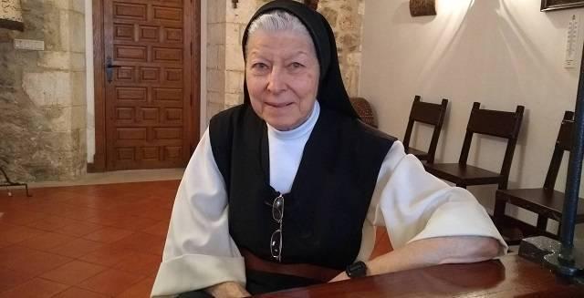 Mary Carmen es en estos momentos la hospedera del monasterio cisterciense de Las Huelgas, en Burgos / Archidiócesis de Burgos