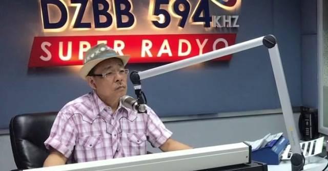 René Santa Cruz es un popularísimo locutor radiofónico en Filipinas... con un testimonio de sanación.