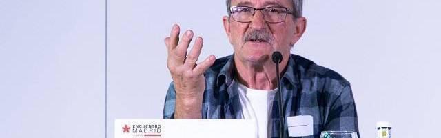 Mikel Azurmendi en un EncuentroMadrid, la cita cultural anual de Comunión y Liberación en Madrid