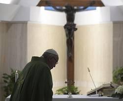 El Papa Francisco quiere una Iglesia que avance en el silencio y la oración