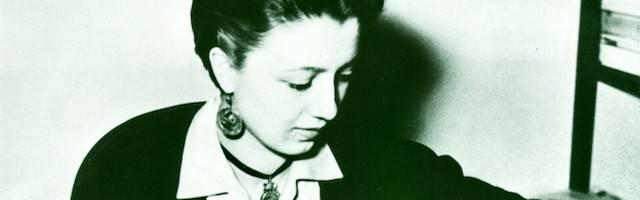Benedetta, en una fotografía tomada en 1955.