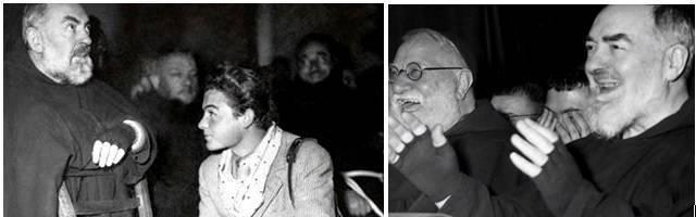 El Misterio del Padre Pío utiliza muchas fotos inéditas que hizo este muchacho en los años 50, Elia, su monaguillo