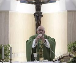 El Papa invitó durante su homilía a reflexionar sobre el final de la vida y el encuentro con Dios