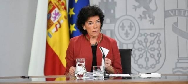 La ministra de Educación, Isabel Celaá,  es la impulsora de la reforma educativa tan contestada por los centros de educación concertada.