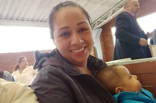 Cristyn Gutiérrez está convencida de que un hijo nunca es una maldición, incluso en las circunstancias más duras vale la pena luchar por la vida