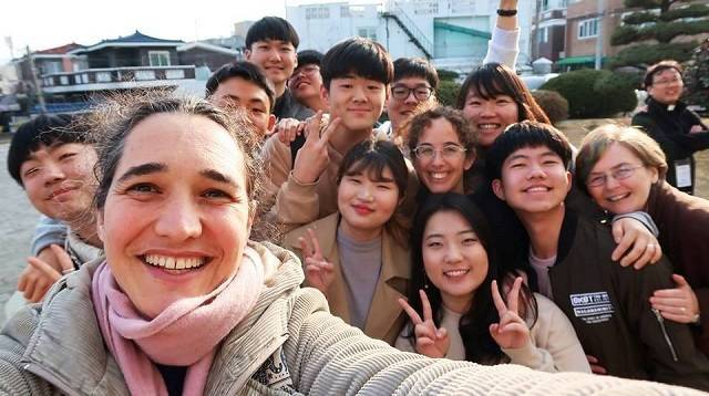 Ester Palma lleva ya 12 años como misionera en Corea del Sur