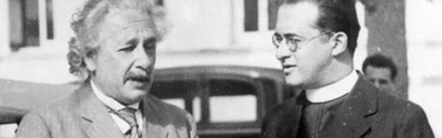 """Para Einstein, la teoría del Big Bang de Lemaitre era """"la explicación más hermosa y satisfactoria de la creación que he escuchado nunca"""""""