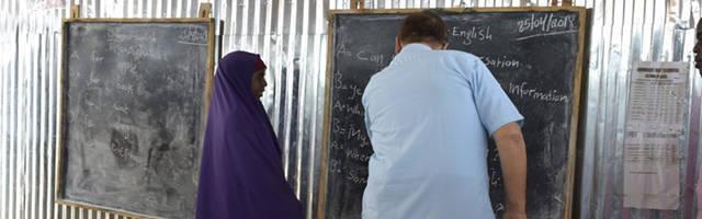 Escuela en Baidoa, al sur del país, sostenida por Caritas Somalia