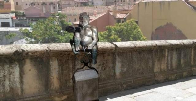 Así es como quedará la estatua del