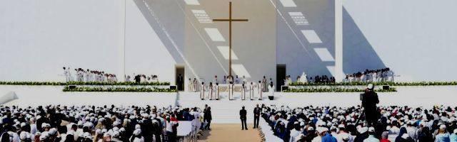 El Papa en su misa en Abud Dabi se centró en la predicación de las Bienaventuranzas