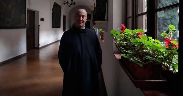 Óscar ingresó en el monasterio benedictino de Leyre cuando tenía 38 años  /Diario de Navarra