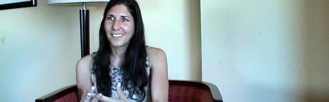 Luciana Rogowicz, durante la entrevista concedida a Religión en Libertad.