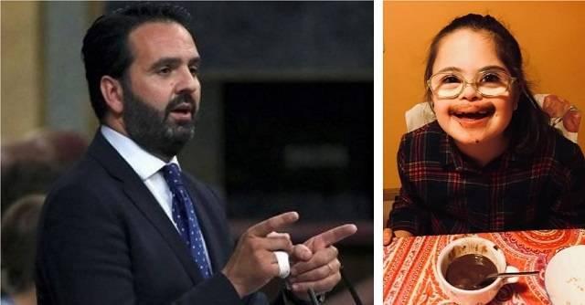 Iñigo Alli, diputado de UPN en el Congreso, ha querido felicitar a su hija Inés, de 10 años, contando la historia del día de su nacimiento