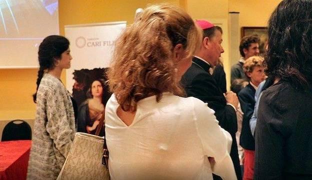 Un momento de la entrega de los Premios de 2018, que presidió monseñor Juan Antonio Martínez Camino, obispo auxiliar de Madrid.