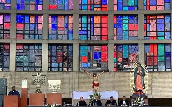 El Santuario de los Mártires de Cristo ya es lugar habitual de actos y ceremonias religiosas.