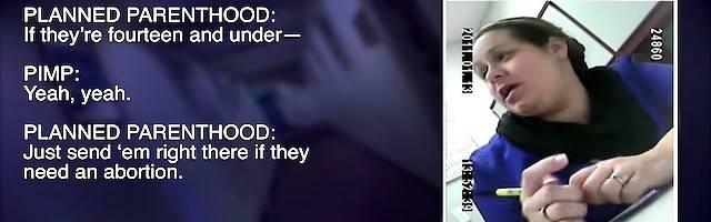 «Si tienen 14 años o menos, mándelas aquí si necesitan un aborto»: una imagen  captada con cámara oculta por la organización provida Live Action en un abortorio de Planned Parenthood en Perth Amboy (Nueva Jersey).