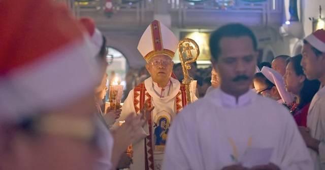 Anicetus se convirtió al catolicismo a los 17 años y ha llegado a ser arzobispo de Medan