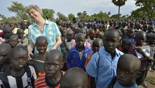 Orla Treacy lleva desde 2006 en lo que hoy es Sudán del Sur realizando una obra ahora reconocida por EEUU
