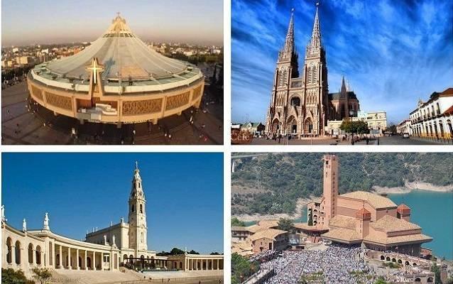 Santuarios y basílicas como las de Guadalupe, Luján, Fátima o Torreciudad, entre otros, se han unido al evento Mater Fátima