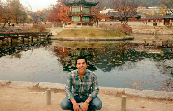 Pepe, en Corea del Sur, donde recibió la colleja de Dios