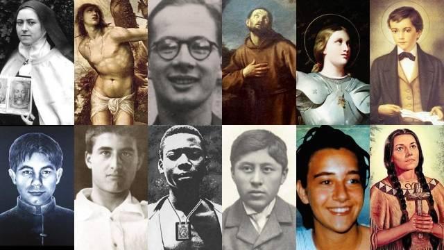 El Papa ha propuesto estos 12 santos y beatos jóvenes como ejemplos para la juventud actual