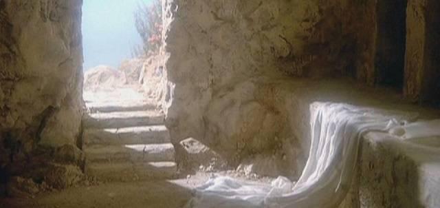 El sepulcro estaba vacío. Cristo no estaba ahí, había resucitado