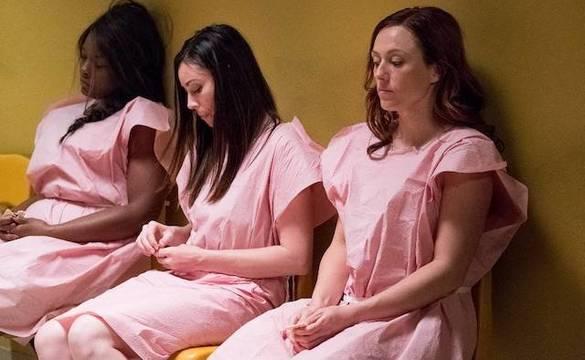 En primer término, Ashley Bratcher, quien interpreta a Abby Johnson en «Unplanned».