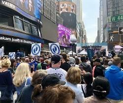 Miles de personas participaron en este acto en un momento en el que en Nueva York ha aprobado una ley radical contra la vida del no nacido