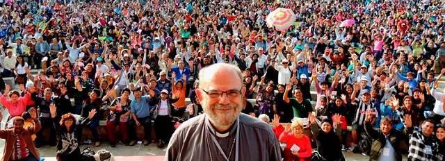 José Luis del Palacio (69 años) fue ordenado sacerdote por Juan Pablo II y nombrado obispo por Benedicto XVI