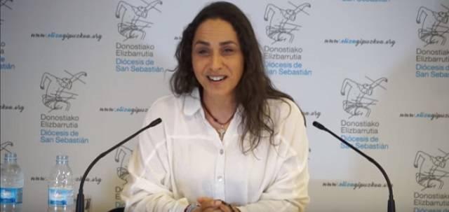 Maria ha raccontato la sua testimonianza durante la Settimana della famiglia della diocesi di San Sebastian