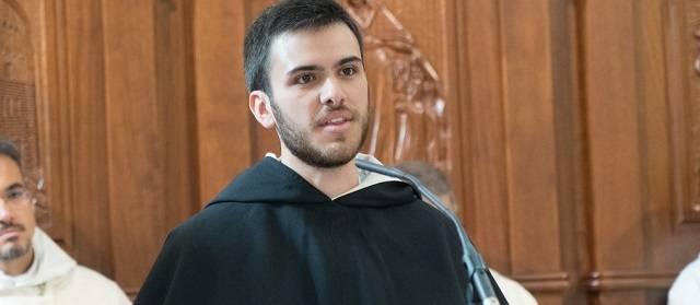 Fray Bernardo hizo el pasado año su primera profesión en Caleruega, localidad natal de Santo Domingo