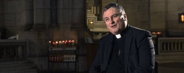 El padre Edouard Marot ha sido rector de Paray le Monial y ahora es misionero del Sagrado Corazón de Jesús
