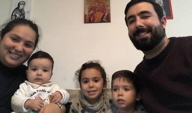 David y Fabiola, de 31 y 32 años respectivamente, llegaron el pasado mes de agosto a Lituania como familia misionera