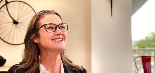 Brigitte Bédard es periodista en la televisión de Montreal (Canadá).