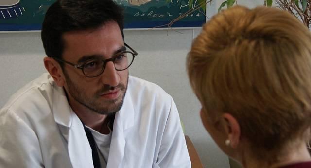 Alonso García de la Puente es psicólogo en el centro Laguna de Madrid
