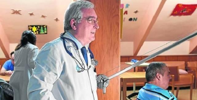El doctor Bátiz es uno de los mayores expertos en cuidados paliativos en España
