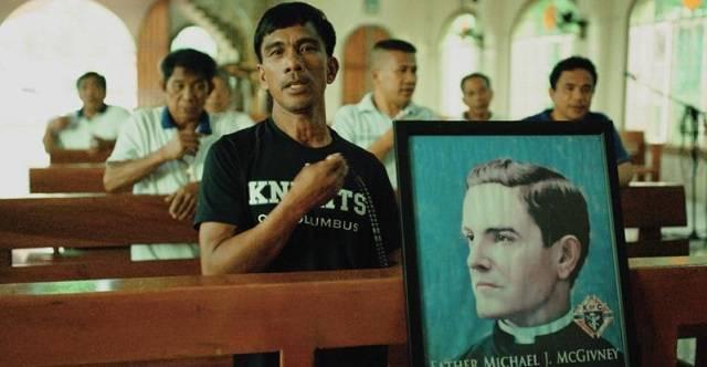 Jeffrey Rentegrado es miembro de los Caballeros de Colón y un orgulloso católico / CNS photo/Spirit Juice, cortesía de los Caballeros de Colón