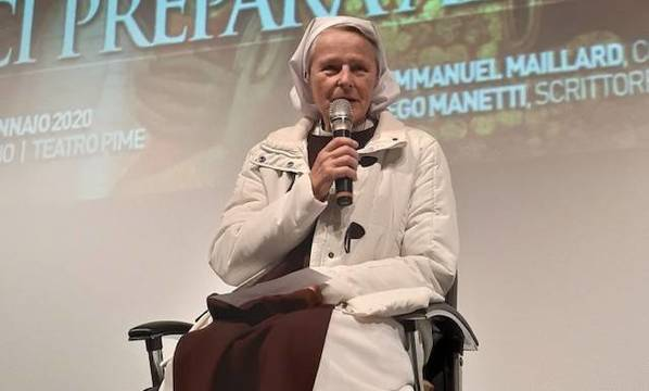 Sor Emmanuel Maillard es la religiosa más célebre de la Comunidad de las Bienaventuranzas de Medjugorje.