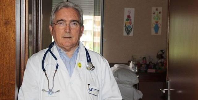 El doctor Jacinto Bátiz ha sido durante 25 años el responsable del área de cuidados paliativos del Hospital San Juan de Dios de Santurce (Vizcaya)