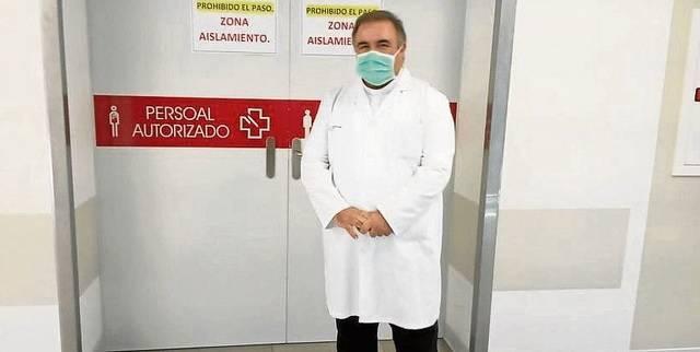 Benito Rodríguez ha decidido no salir del hospital y permanecer en él todo el tiempo para lo que se le necesite